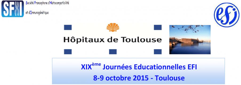 Participation aux XIX journées Éducationnelle EFI - Toulouse