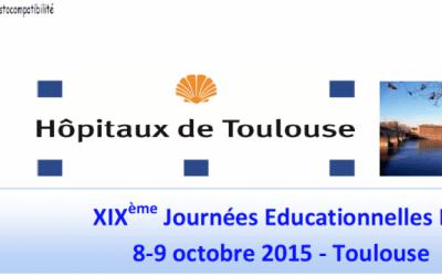 Participation aux XIX journées Éducationnelle EFI – Toulouse