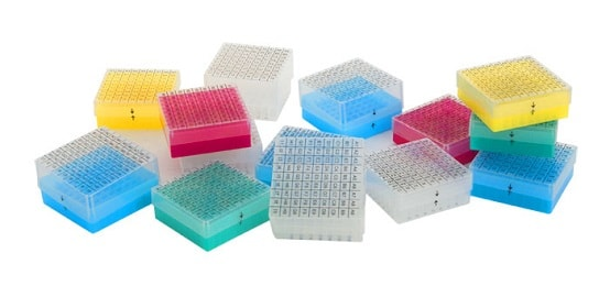 Accessories for Serum bank / Biobank: Serum bank boxes PP Cryoboxes