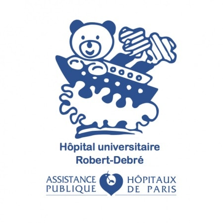 Logo Hôpital Universitaire Robert-Debré