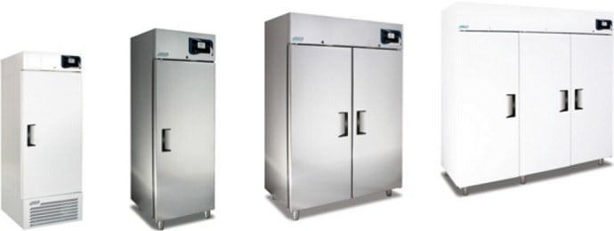 Laboratory freezers: Upright freezers