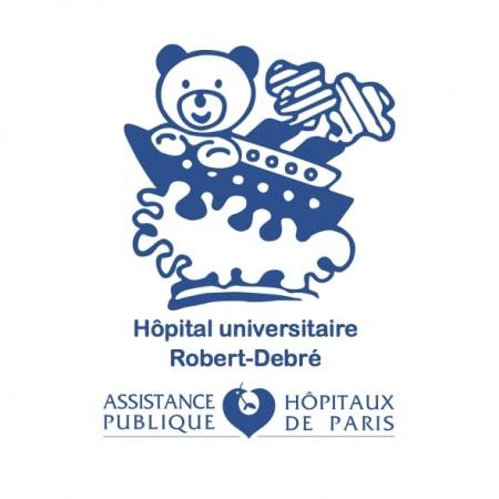 Logo Hôpital Universitaire Robert-Debré