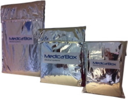 Isothermal transport bags