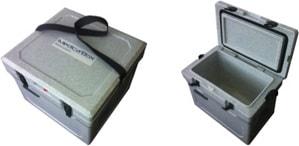 Isothermal transport coolers