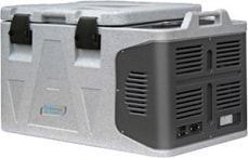 Portable refrigerated freezers