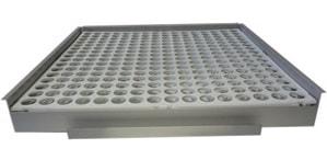 accessoires pour sérothèque: portoir tubes système Sero'Box