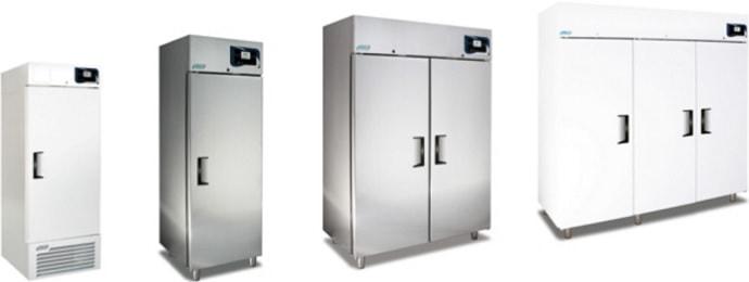 Laboratory freezers: Upright freezers